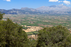 Lasithi plateau at Crete island Royalty Free Stock Photography