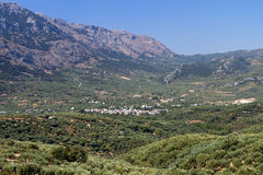 Lasithi plateau, Crete island, Greece Royalty Free Stock Photography