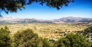 Lasithi plateau in Crete, Greece Stock Photography