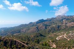Lasithi Plateau Royalty Free Stock Photo