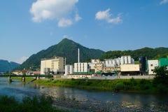 Lasko-Brauerei, Slowenien Stockfotografie