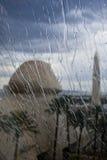 lasluxor regn vegas Royaltyfri Bild