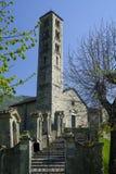 Lasnigo Lombardy, Itália: Igreja de Alessandro do ` de Sant Fotografia de Stock