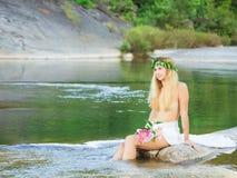 lasowa boginka Obrazy Royalty Free
