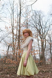 lasowa boginka Fotografia Royalty Free