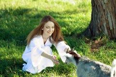 Lasowa czarodziejka Zdjęcia Stock