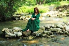 Lasowa czarodziejka Zdjęcie Royalty Free
