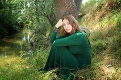 Lasowa czarodziejka Zdjęcia Royalty Free