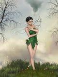 Lasowa czarodziejka Obraz Royalty Free