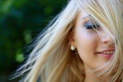 lasowa dziewczyna Zdjęcia Stock