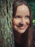 lasowa dziewczyna Zdjęcie Royalty Free