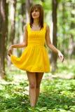 lasowa kobieta Zdjęcia Stock