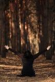 lasowa kobieta Zdjęcia Royalty Free
