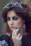 Lasowa kobieta Obraz Royalty Free