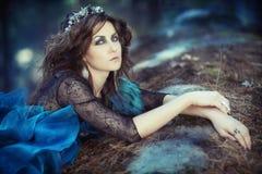 Lasowa kobieta Obrazy Stock
