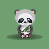 Lasowa panda ilustracji