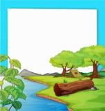 lasowa scena royalty ilustracja