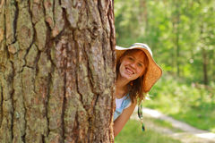 lasowa zabawa Obrazy Royalty Free