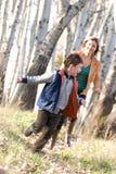 lasowy bieg zdjęcie stock