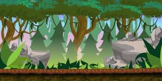 Lasowy Gemowy tło Obraz Stock
