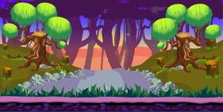 Lasowy Gemowy tło Obrazy Stock