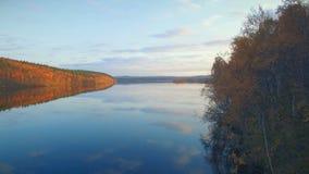 Lasowy jezioro zbiory wideo