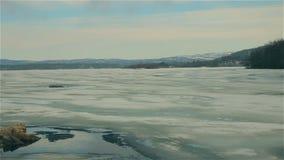 Lasowy jezioro w Arktycznej tundrze zbiory