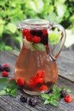 Lasowy owoc sok Zdjęcia Stock