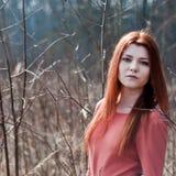 lasowy portret Zdjęcia Stock