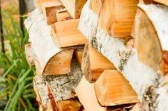 Lasowy przemysł, tarcica dla budowy Obraz Royalty Free