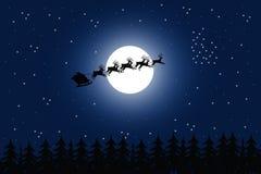 lasowy Santa ilustracja wektor