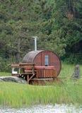 lasowy sauna Zdjęcie Royalty Free