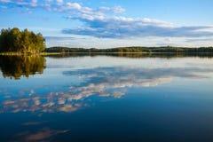 lasowy target3211_0_ jeziora Zdjęcie Stock