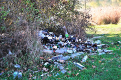 lasowy zanieczyszczenie Zdjęcie Royalty Free