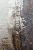 Lasparel tijdens het staal dat van de lassen hoog-legering wordt gevormd stock afbeeldingen