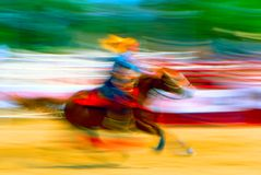 lass rodeo Στοκ Φωτογραφία