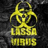 Lassa virus concept background Stock Photography