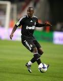 Lassana Diarra de Real Madrid Imagen de archivo