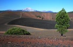 Lassen вулканический, Калифорния, США стоковое изображение rf