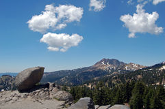Lassen big rock Royalty Free Stock Images