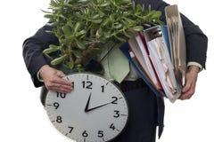 Lassen des Jobs Lizenzfreies Stockbild