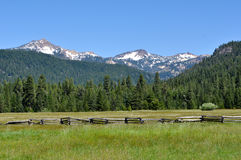 lassen góry park narodowy powulkaniczny Obrazy Royalty Free