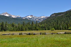 Lassen National Volcanic Park Royalty Free Stock Photos