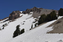 Lassen National Volcanic Park Royalty Free Stock Photography