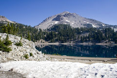 Lassen Peak Royalty Free Stock Photo