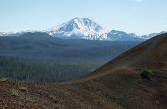 Lassen Peak, Lassen Volcanic National Park, California Stock Images