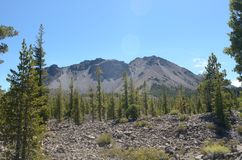 Lassen Peak National Park Stock Photo