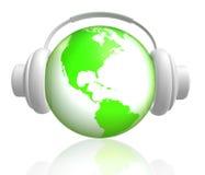 Lassen Sie die Welt die Musik genießen Stockfotos