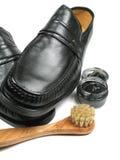 Lassen Sie Ihren Schuhe Shine stockfoto