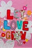Lassen Sie Liebe wachsen Lizenzfreie Stockbilder